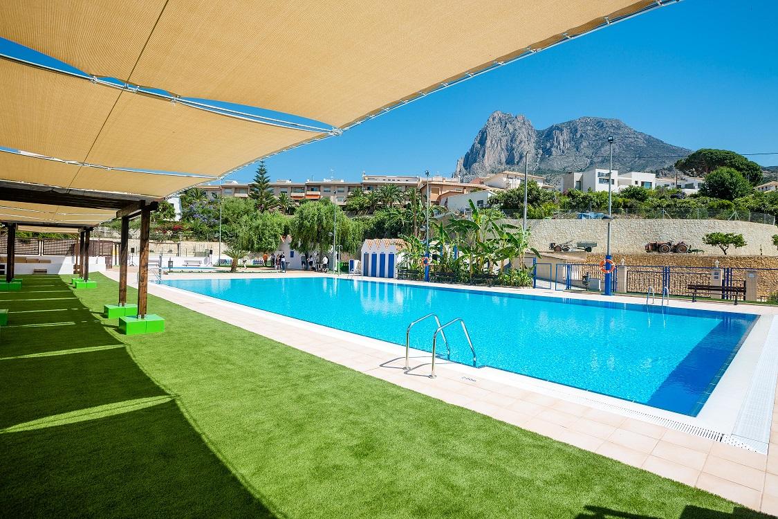 Finestrat  - inauguracion de la piscina municipal