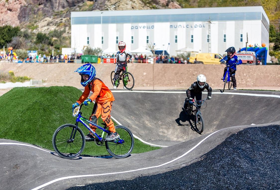 Finestrat - inauguracion nueva zona deportiva junto al pabellon municipal